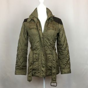Banana Republic Quilted Utility Jacket